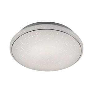 PAUL NEUHAUS LED stropní svítidlo bílé hvězdné nebe, kruhové 2700-5000K LD 14364-16
