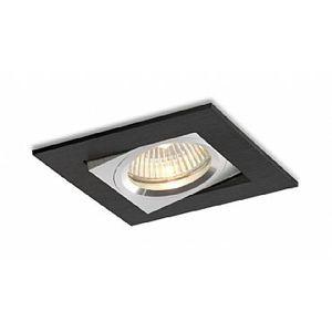 BPM Vestavné svítidlo Aluminio Negro, černá, 1x50W, 230V 161 3002GU