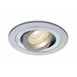 BPM Vestavné svítidlo Aluminio Plata, kart.hliník 3LEDx3W, 230V 3010LED2.D40.3K
