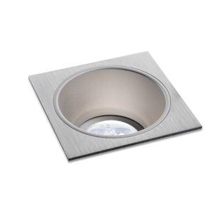 BPM Vestavné svítidlo Aluminio Plata, kartáčovaný hliník 1x50W, 12V 4788 3030