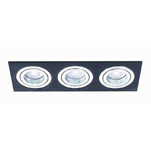 BPM Vestavné svítidlo Aluminio Negro, černá, 9LEDx3W, 230V 3056LED2.D40.3K