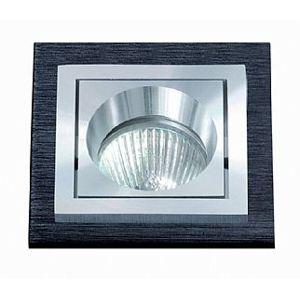 BPM Vestavné svítidlo Aluminio Negro, černá, 1x50W, 12V 157 3074