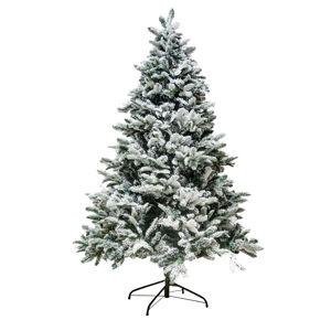 DecoLED Vánoční strom mix PE a PVC 180cm, Flock K064