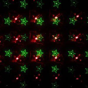 Laserové vánoční osvětlení - různé motivy
