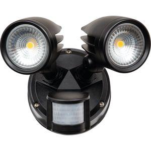 HEITRONIC LED nástěnné svítidlo MERIDA s pohybovým čidlem 37231 Teplá bílá
