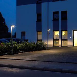 Albert Leuchten LED stožárové světlo 866 z hliníku, antracit