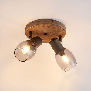 Lindby Lindby Ineska stropní reflektor dva zdroje, kulaté