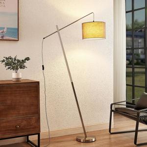 Lindby Lindby Rukaia stojací lampa se stínidlem, šedá