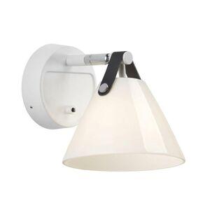 NORDLUX bodové svítidlo Strap bílá opál 46241001
