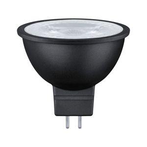 PAULMANN LED 6,5 W černá mat GU5,3 2.700K teplá bílá 287.57