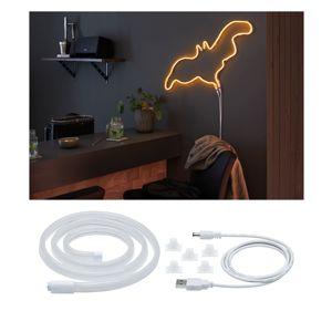 PAULMANN Neon Colorflex USB Strip oranžová 1m 4,5W 5V oranžová/bílá umělá hmota 705.62 70562