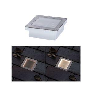 PAULMANN solární LED zemní svítidlo Aron 10x10 cm pohybové čidlo 942.38 P 94238 94238