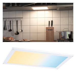 PAULMANN Nábytkové svítidlo Clever Connect Panel Flad bílá mat 12V 6W měnitelná bílá 2.700-6.500K 999.51