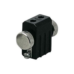Paulmann Lankový systém L E držák žárovek max.1x35W G4 černá 12V Met 978.41 P 97841