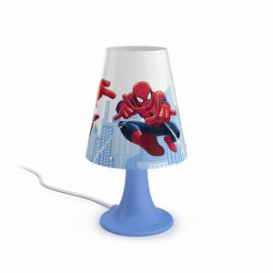 Philips NOV 2016 Spider-Man table lamp blue 1x23W SELV 71795/40/16