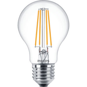Philips CLA LEDBulb ND 7-60W E27 WW A60 CL Čirá
