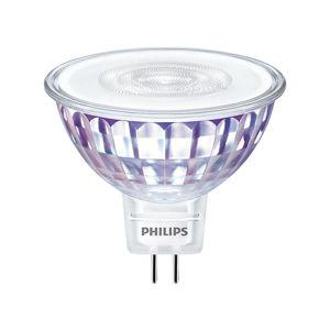 Philips LED žárovka GU5,3 MR16 7W 50W neutrální bílá 4000K stmívatelná, reflektor 12V 36°